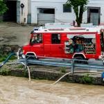 Hochwasser 2013 in Steyr, Österreich