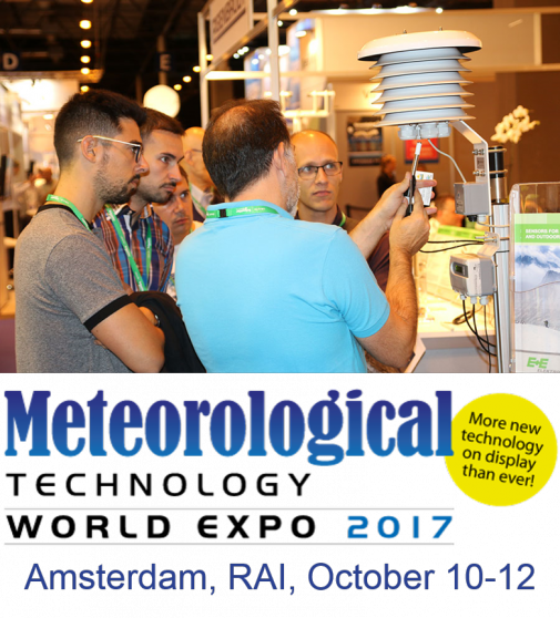 See you in Amsterdam! October 10-12, 2017