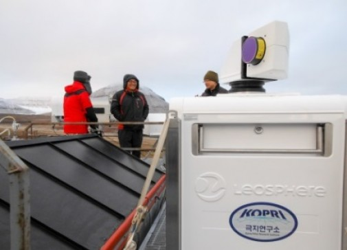 Leosphere's project on Artic climate study